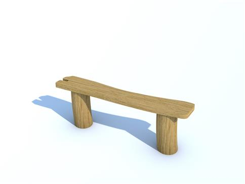 Robinia Perch Bench 1.25m