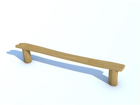 Robinia Perch Bench 2.5m