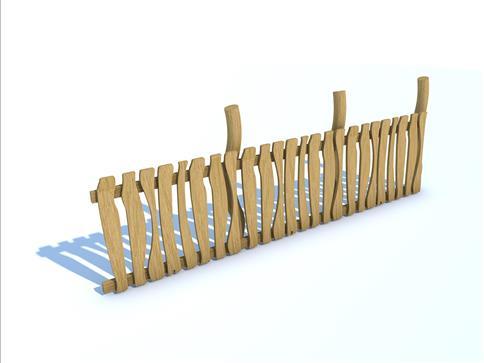 Robinia Fencing