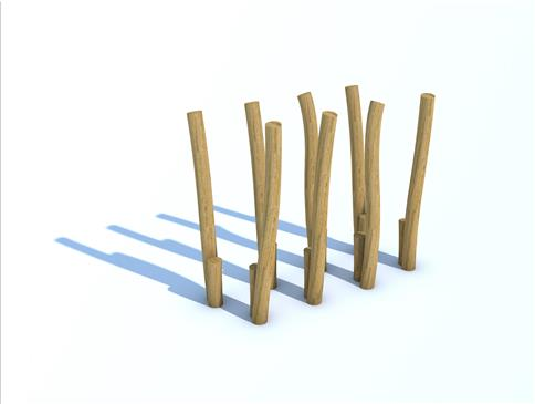 Robinia Walk and Stretch (set of 8)