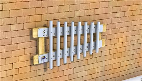 Wall Mounted Playground Chimes
