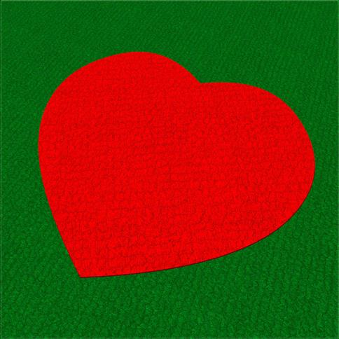 Saferturf Heart