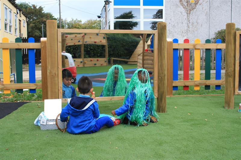 Playground Mirrors For Schools Pentagon Play