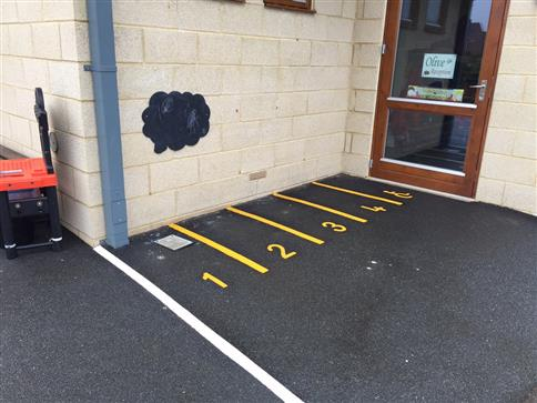Numbered Parking Bays