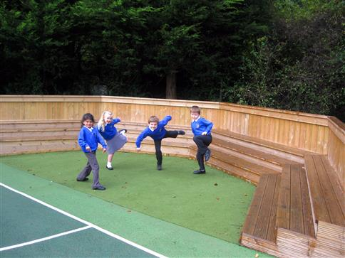 Amphitheatre with Saferturf
