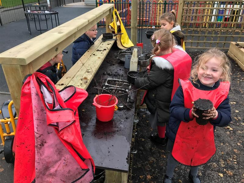 Mud Kitchen For Eyfs Amp Outdoor Learning In Schools