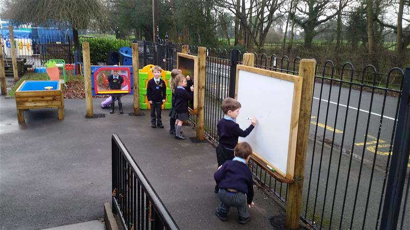 Mark Making Boards for EYFS Playgrounds