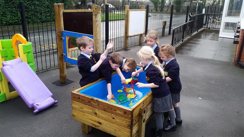Water Table for mathematics
