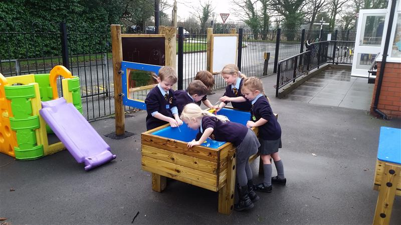 Water Table for EYFS playgrounds
