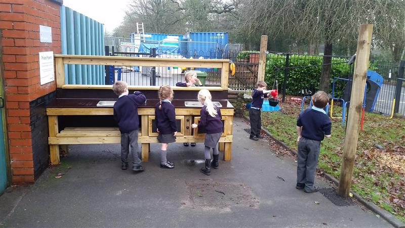 Mud Kitchen for EYFS children