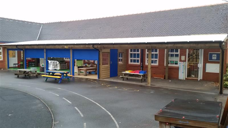 Canopy Outdoor Classroom for Haslington Primary School