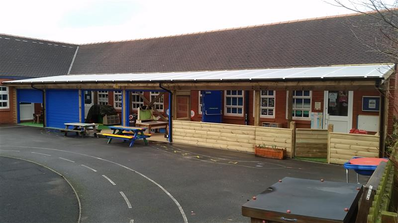 Haslington School's Timber Canopy