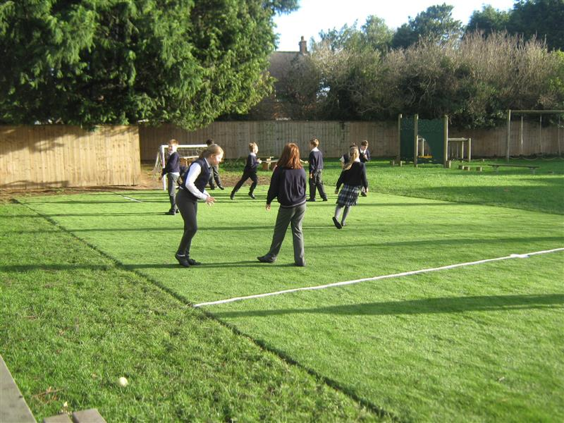 New Multi Use Games Area at Wolviston Primary School
