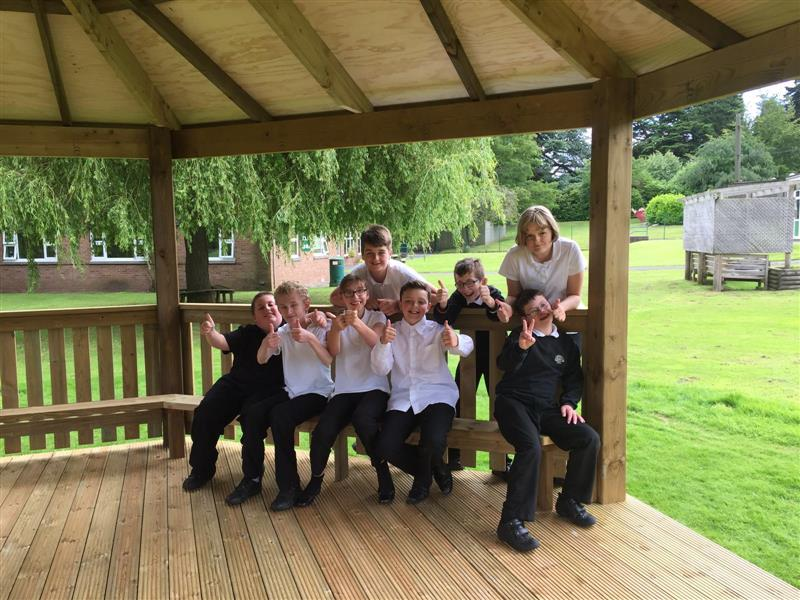 Walton Hall Academy Outdoor Classroom