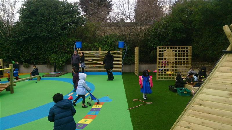 Thornton Primary School's EYFS Playground