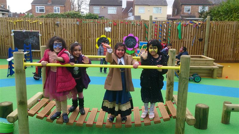 Thornton Road Primary School's new EYFS playground