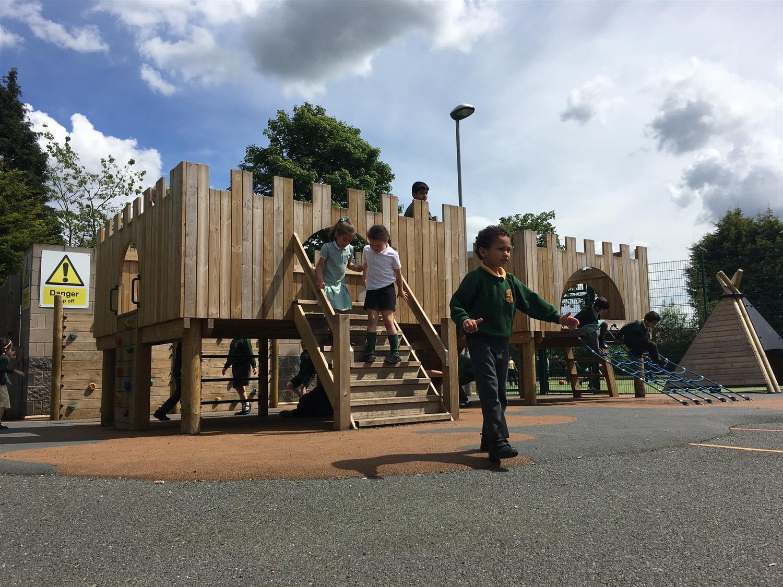 A Huge Playground Development At Wheelers Lane Pentagon Play