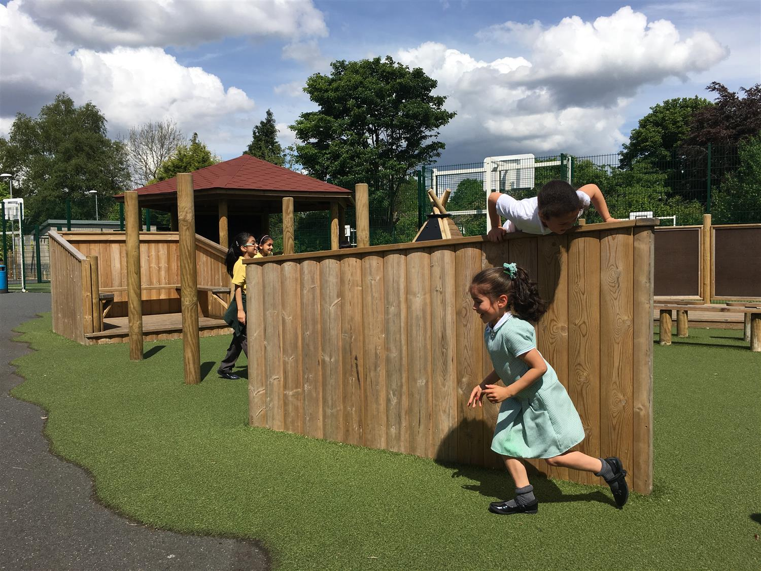 A Huge Playground Development At Wheelers Lane Pentagon Play