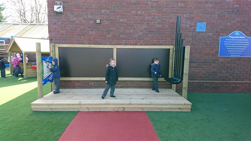 Outdoor Performance Stage for schools