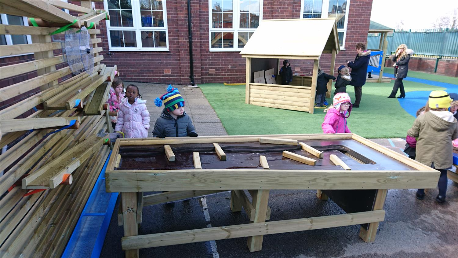 Greenfield Primary S New Eyfs Learning Environment