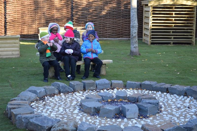 bespoke fire pit for schools