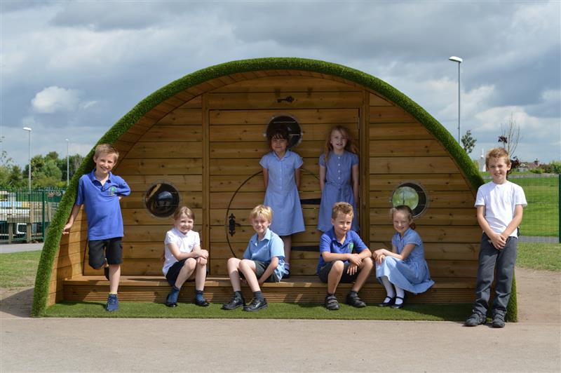 Pentagon Play's Hobbit Playhouse For Schools