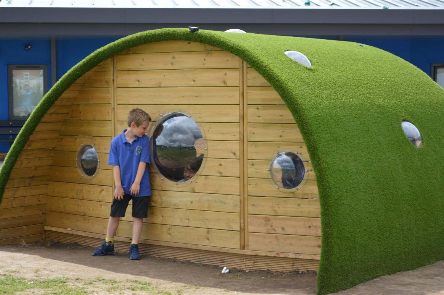 Chapelford Primary School's Hobbit Playhouse | Pentagon Play