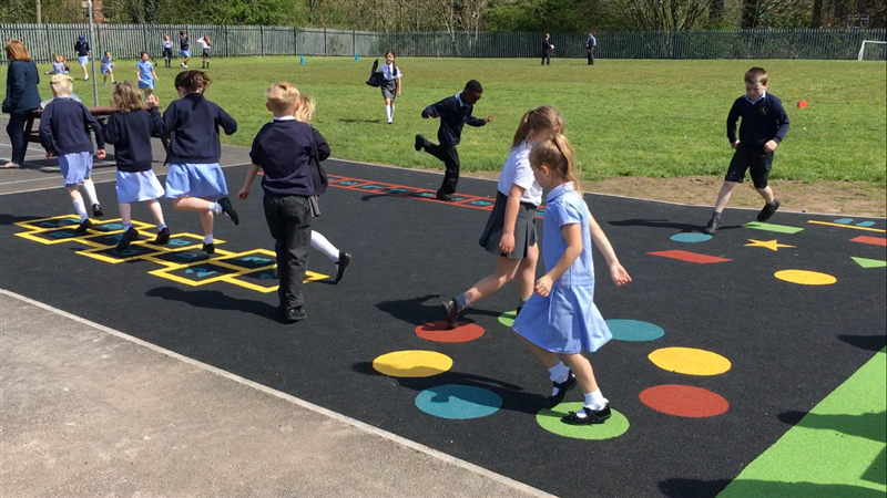 Active Playground Markings