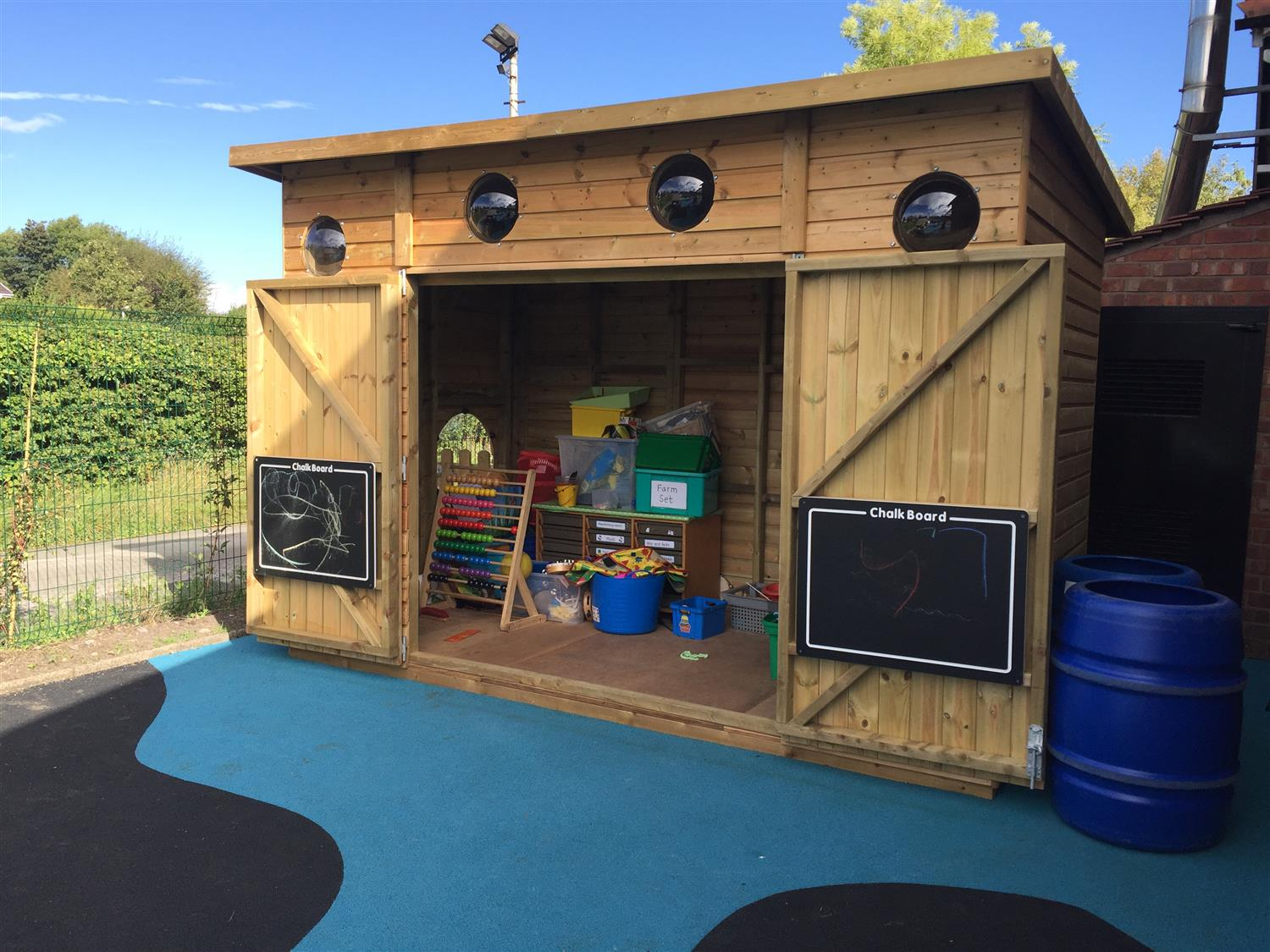 Alsager Highfield S Early Years Outdoor Classroom