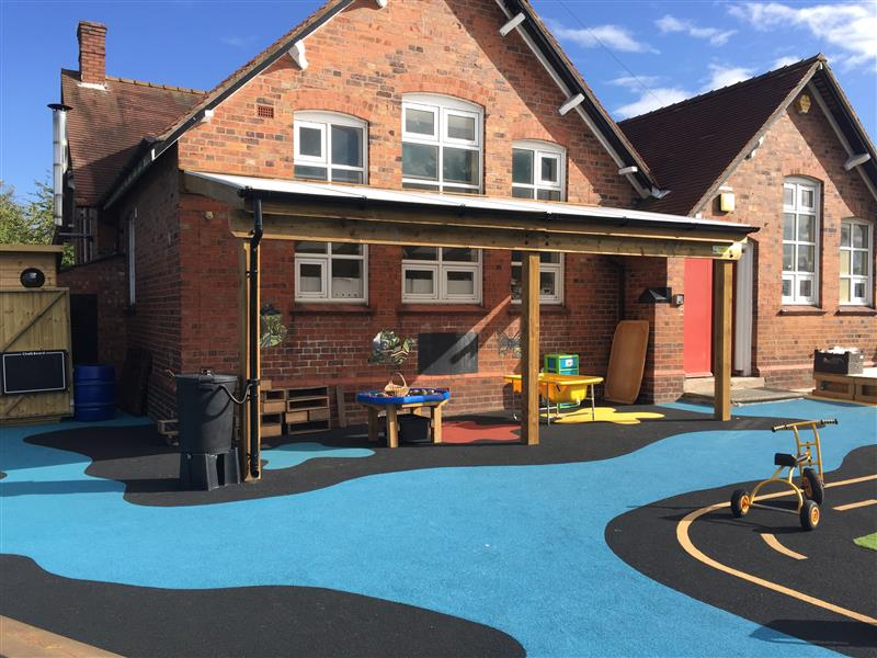 Timber canopy for schools