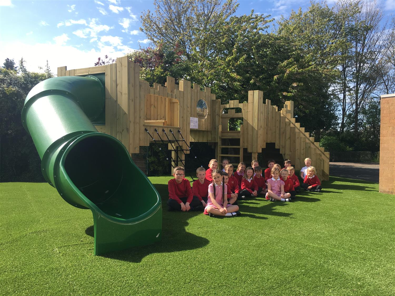 Southam St James Playground Castle Pentagon Play