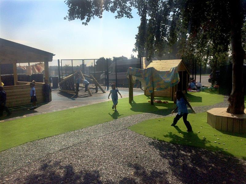 St Edmund's early years playground