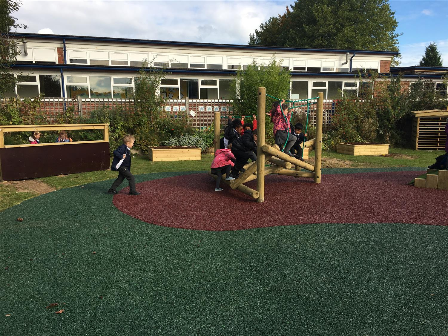 paganel primary schools outdoor classroom pentagon play