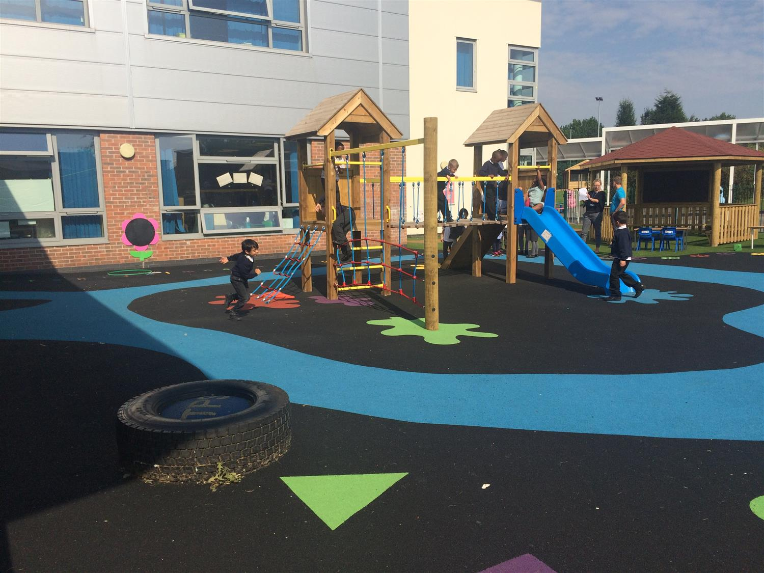 Ashbury Meadow Primary School S Playground Project