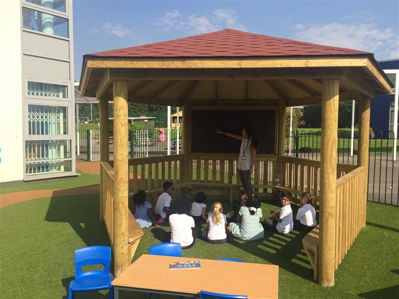 outdoor Gazebo for schools