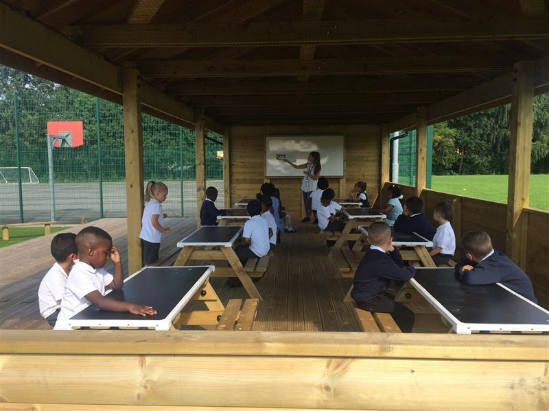 Outdoor Classroom - Ashbury Meadow Primary School