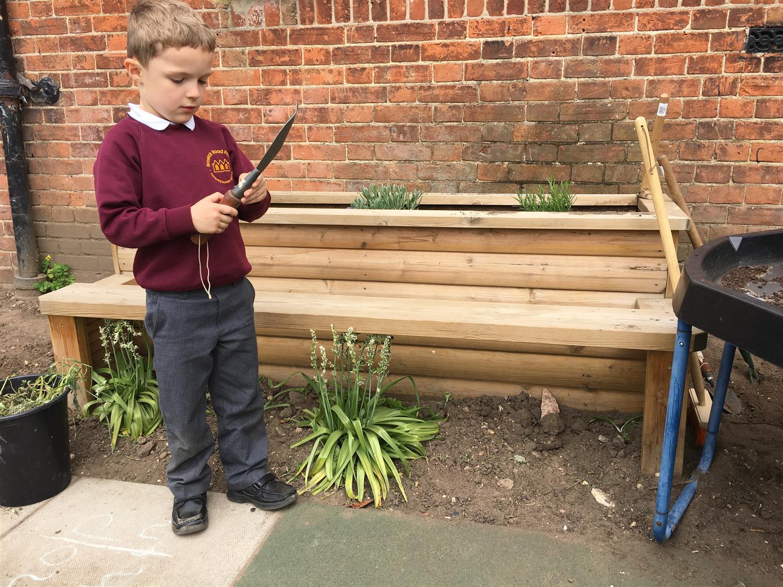 School Playground Planters