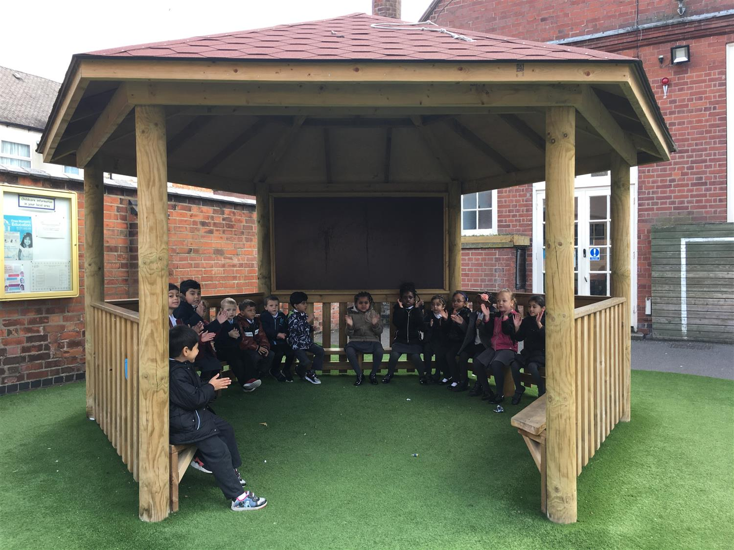 Hazel Primary S Magnificent School Playground Pentagon Play