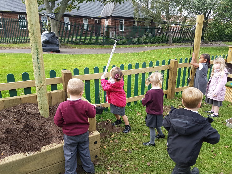 Billingham South S Eyfs Playground Equipment Pentagon Play