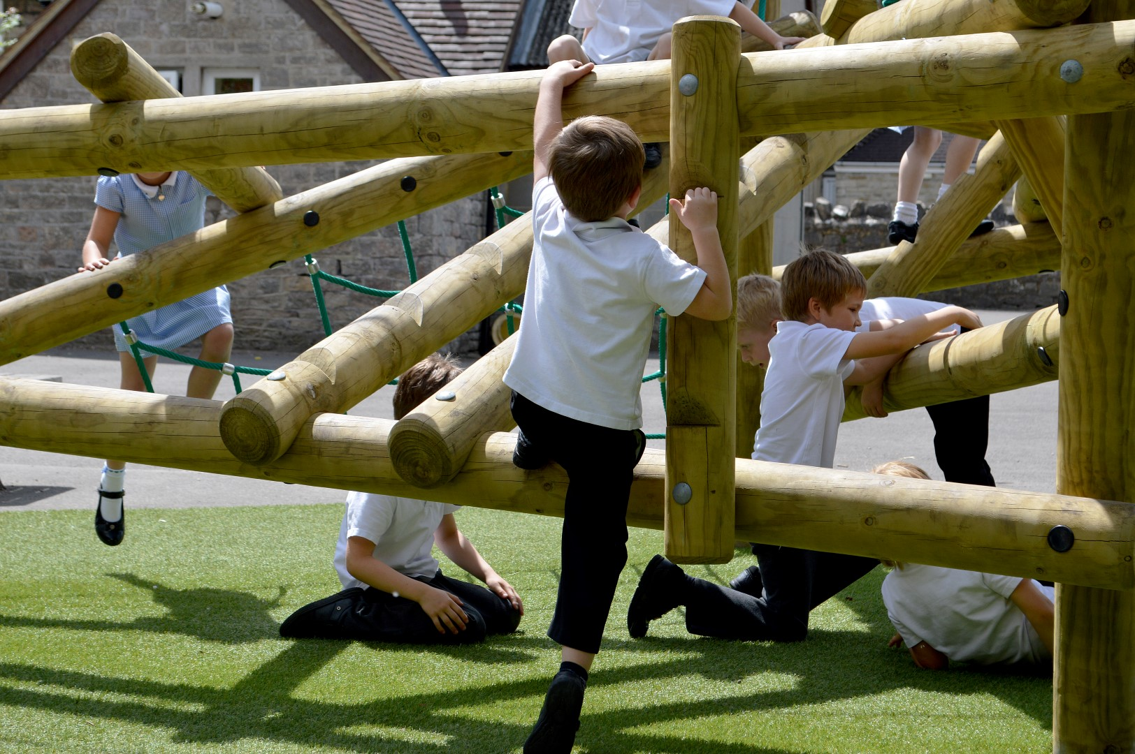 school climbing frame