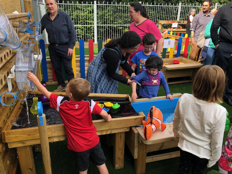 Water Walls for Schools