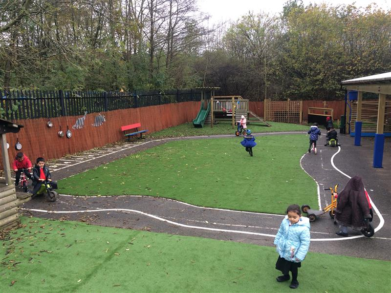 eyfs playground roadway