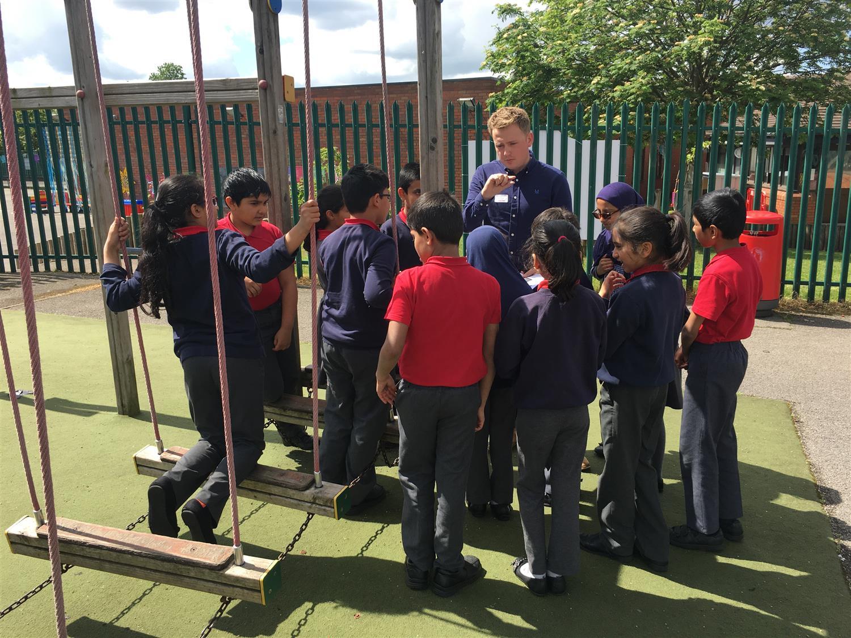 School Council Meeting With Palfrey Junior School