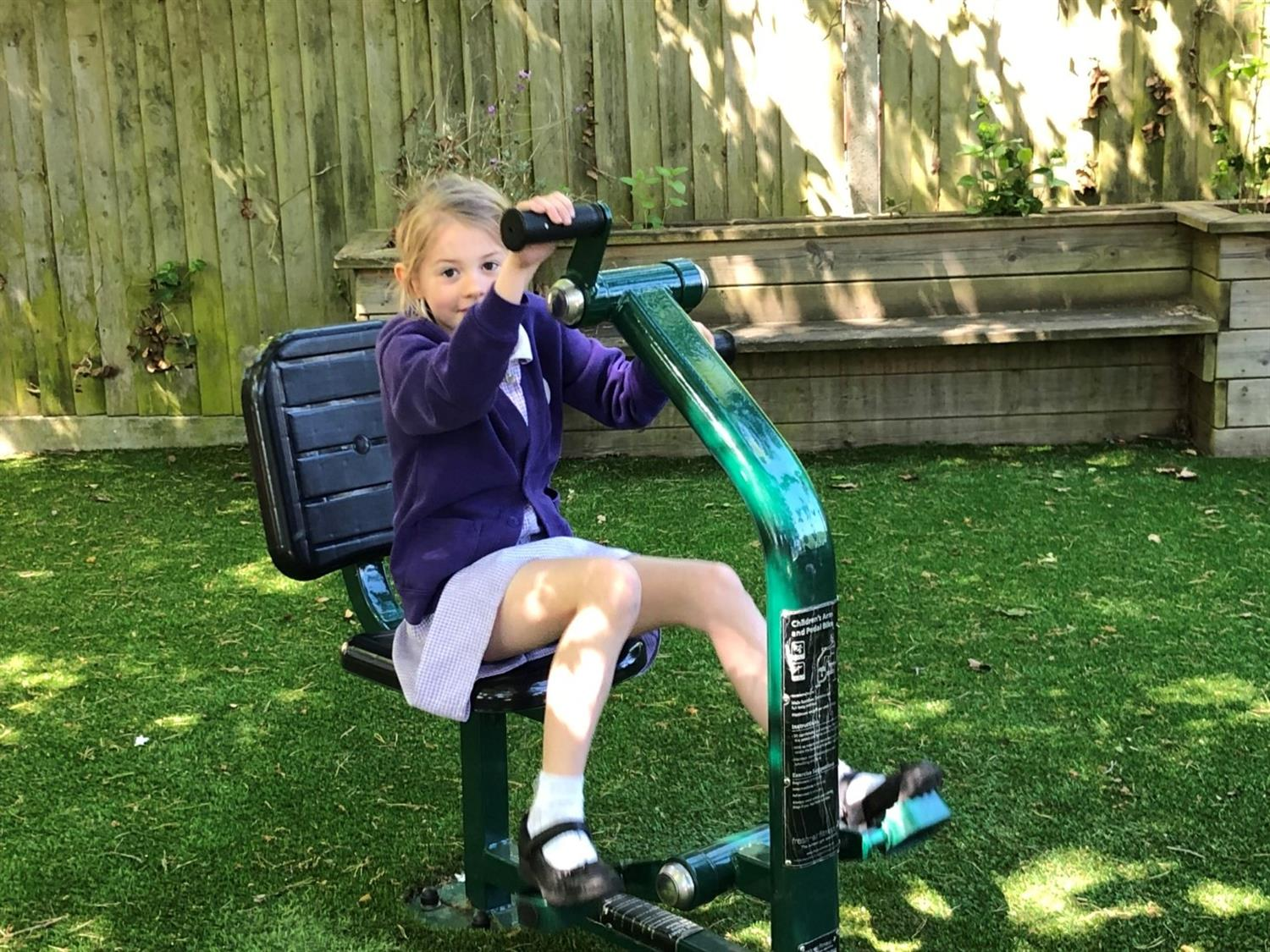 South Ascot Primary S Outdoor Gym Equipment Pentagon Play
