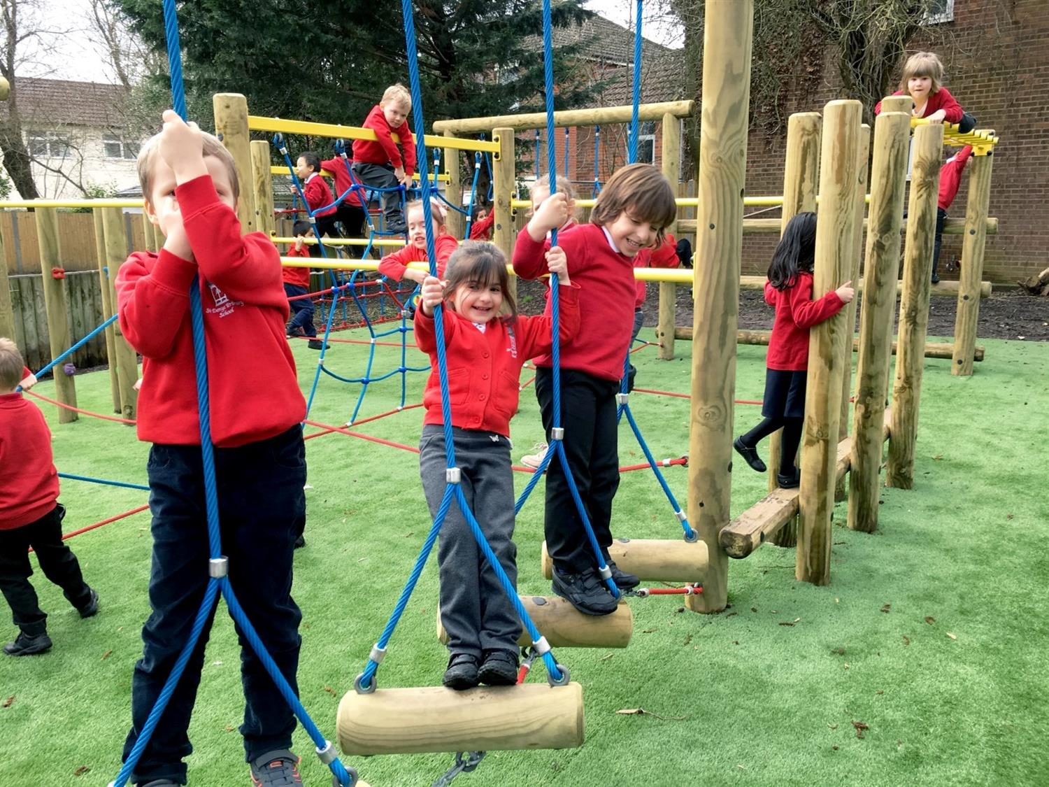 St Denys Primary S Active Playground Equipment Pentagon Play