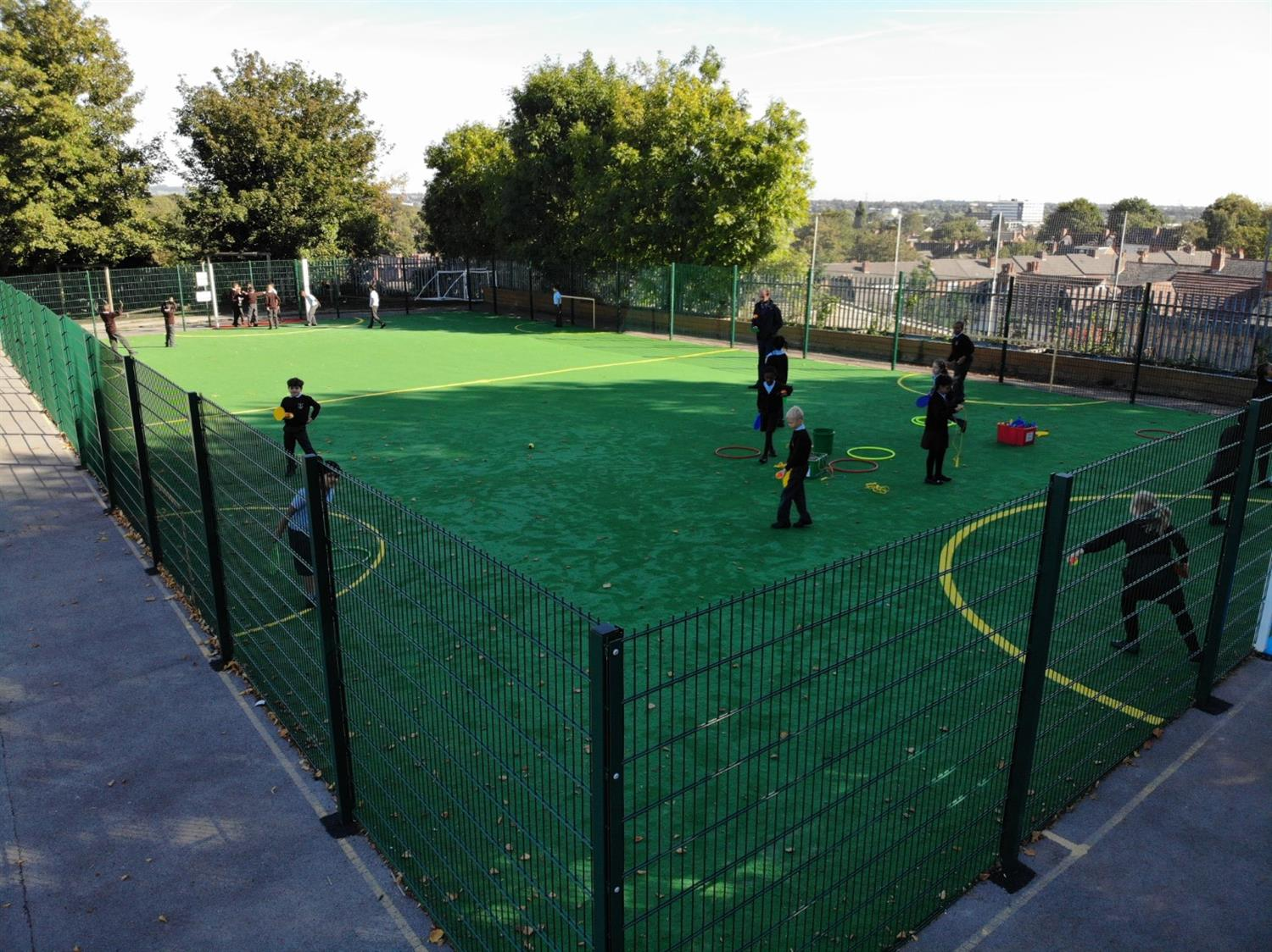 St Clare S Catholic Primary S Multi Use Games Area
