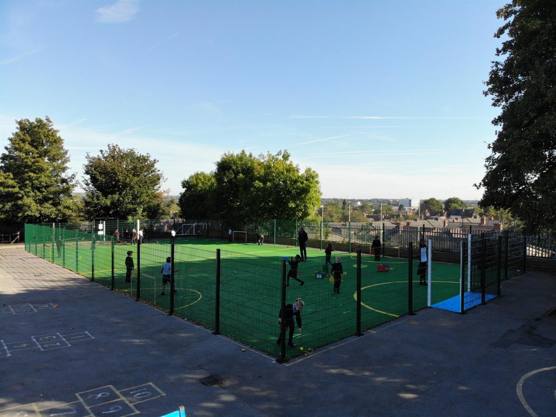 St Clare S Catholic Primary S Multi Use Games Area