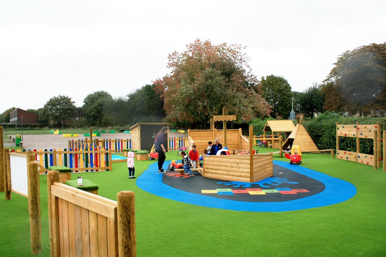 Bright Sparks Preschool's Playground Design | Pentagon Play