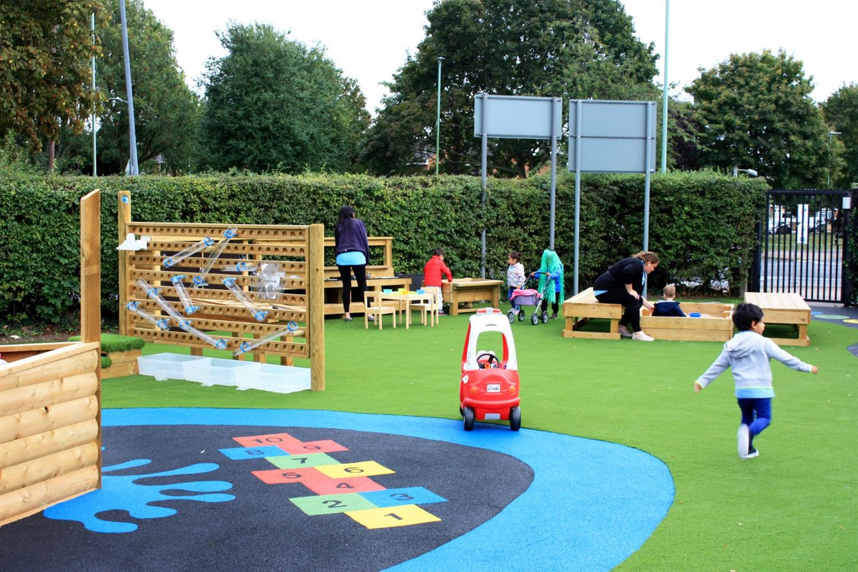 Bright Sparks Preschool\'s Playground Design | Pentagon Play