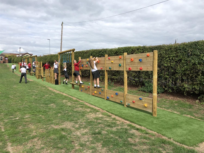 School Playground Equipment in Derbyshire